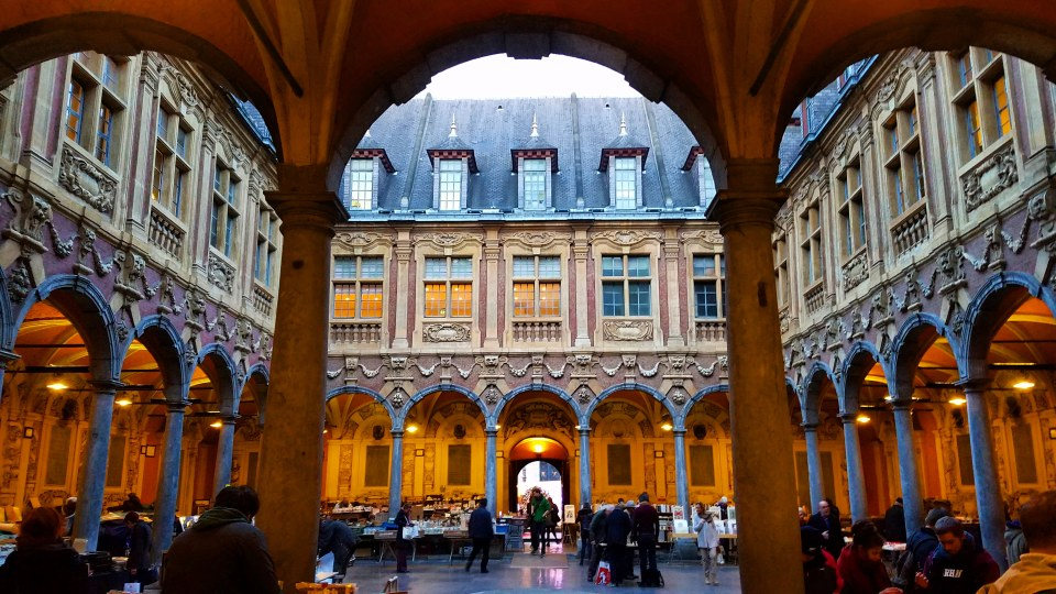 Vieille Bourse, Grand Place | Lille, France | Adventures with Shelby
