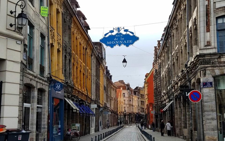 Rue de la Monnaie in Vieux Lille | Adventures with Shelby