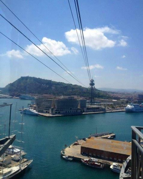 Transbordador Aeri, Barcelona | Adventures with Shelby