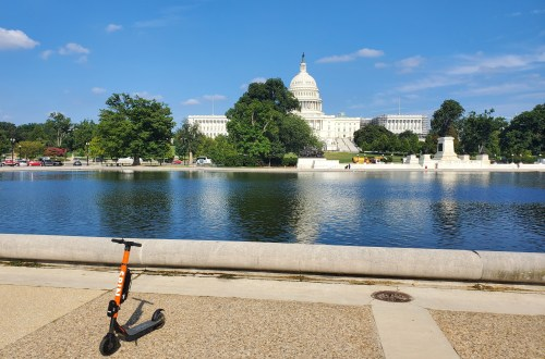 DC E-Scooter Rental | Adventures with Shelby