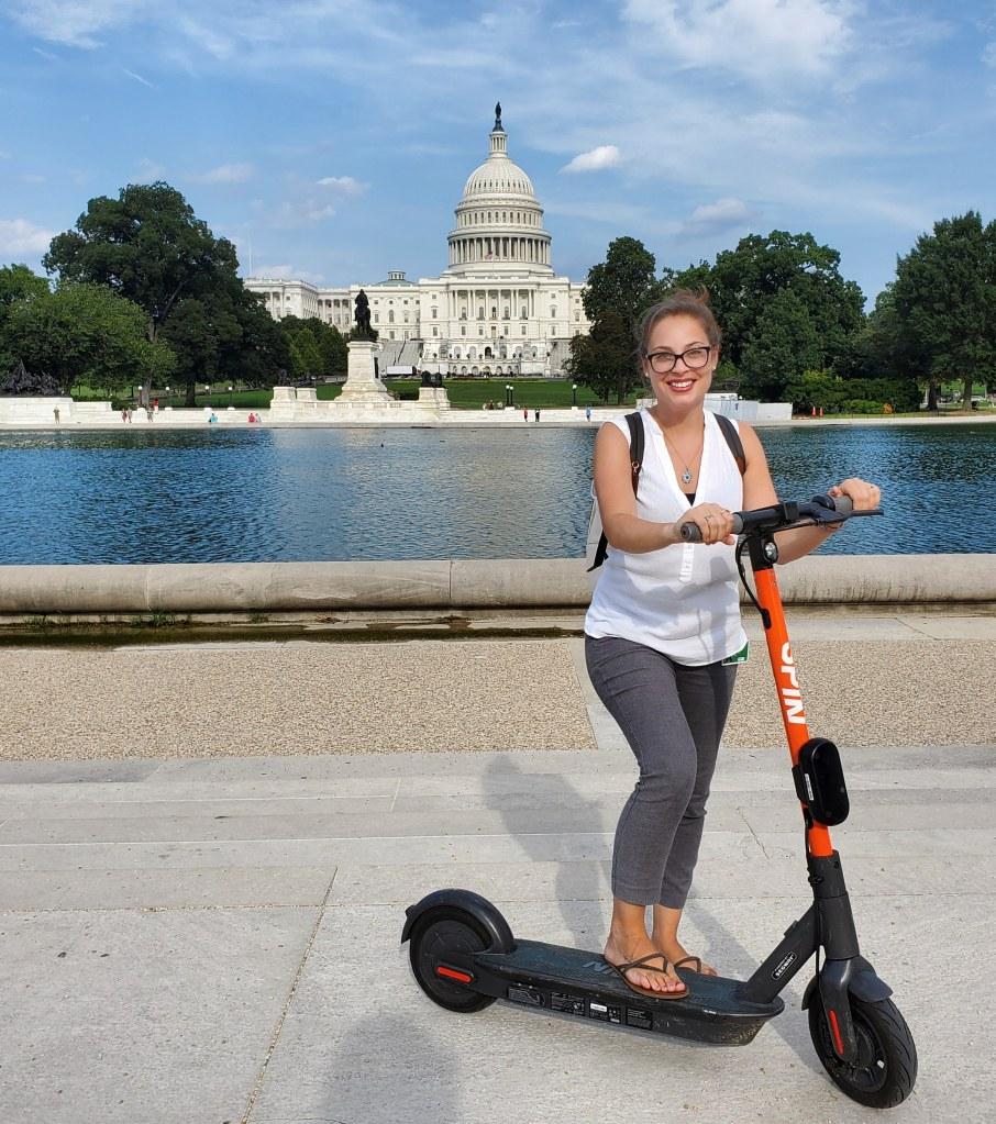 Getting Around DC : E-Scooter Rentals | Adventures with Shelby