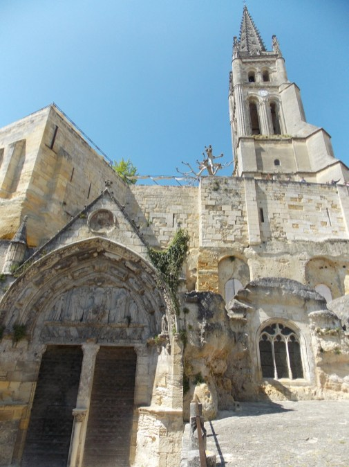 Saint-Émilion Monolithic Church | Bordeaux, France | Adventures with Shelby