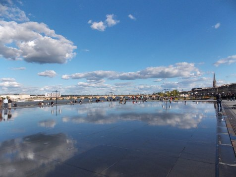 Miroir d'eau, Bordeaux | Adventures with Shelby