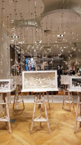 Galeries Lafayette | Paris at Christmas Time | Adventures with Shelby
