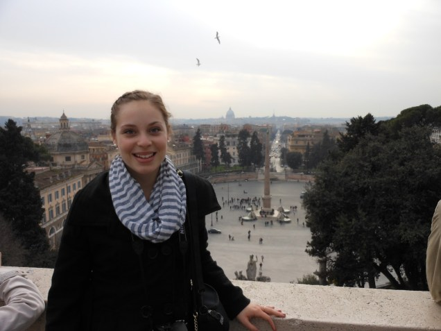 View over Piazza del Popolo | Adventures with Shelby