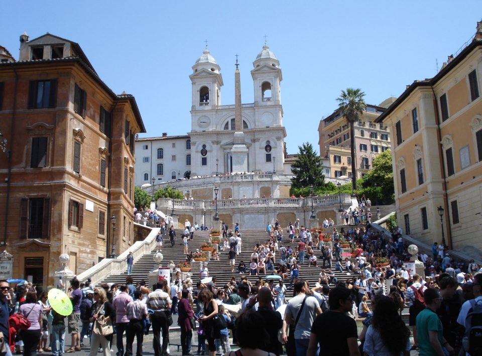 Spanish Steps, Rome | Adventures with Shelby
