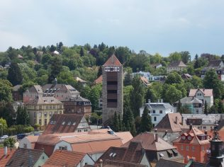 View from Johanneskirche Tower in Schwaebisch Gmuend, Germany | Adventures with Shelby