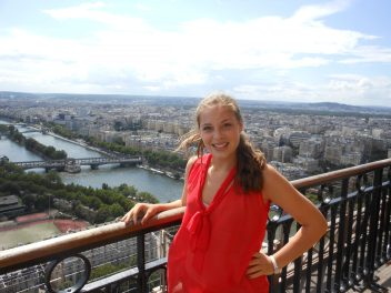 View of Paris from the Eiffel Tower | Adventures with Shelby