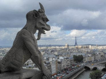 View from Notre Dame Cathedral Tower in Paris | Adventures with Shelby