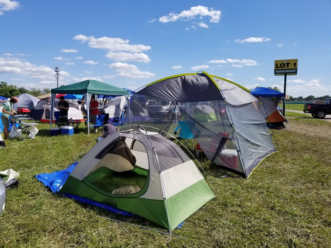 Camping at Festivals | Adventures with Shelby