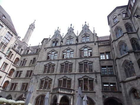 Courtyard in New Town Hall Munich | Adventures with Shelby
