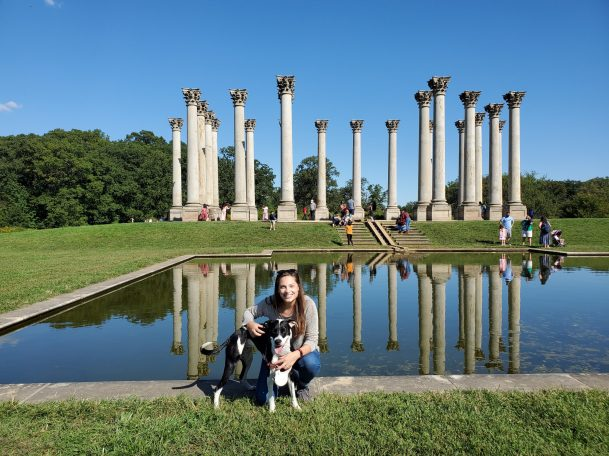 Capitol Columns at the National Arboretum | Adventures with Shelby