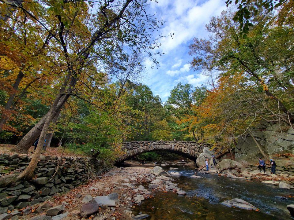 Boulder Bridge in Rock Creek Park   Adventures with Shelby