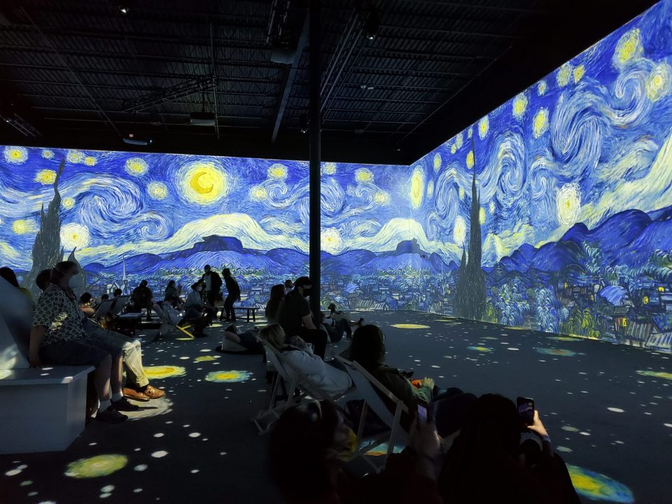 Van Gogh Immersive Experience in DC   Adventures with Shelby