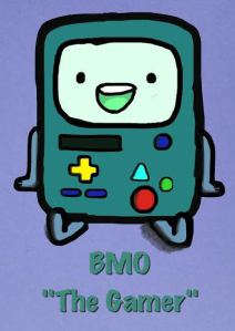 BMO The Gamer by Silver Wolf
