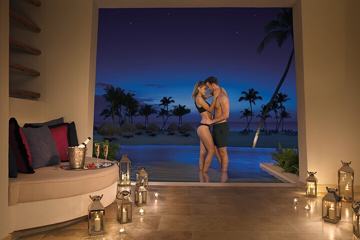 Secrets Cap Cana, for a romantic travel resolution