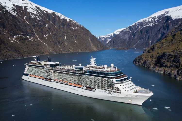 A cruise vacation to see Alaska's beauty onboard the Celebrity Solstice