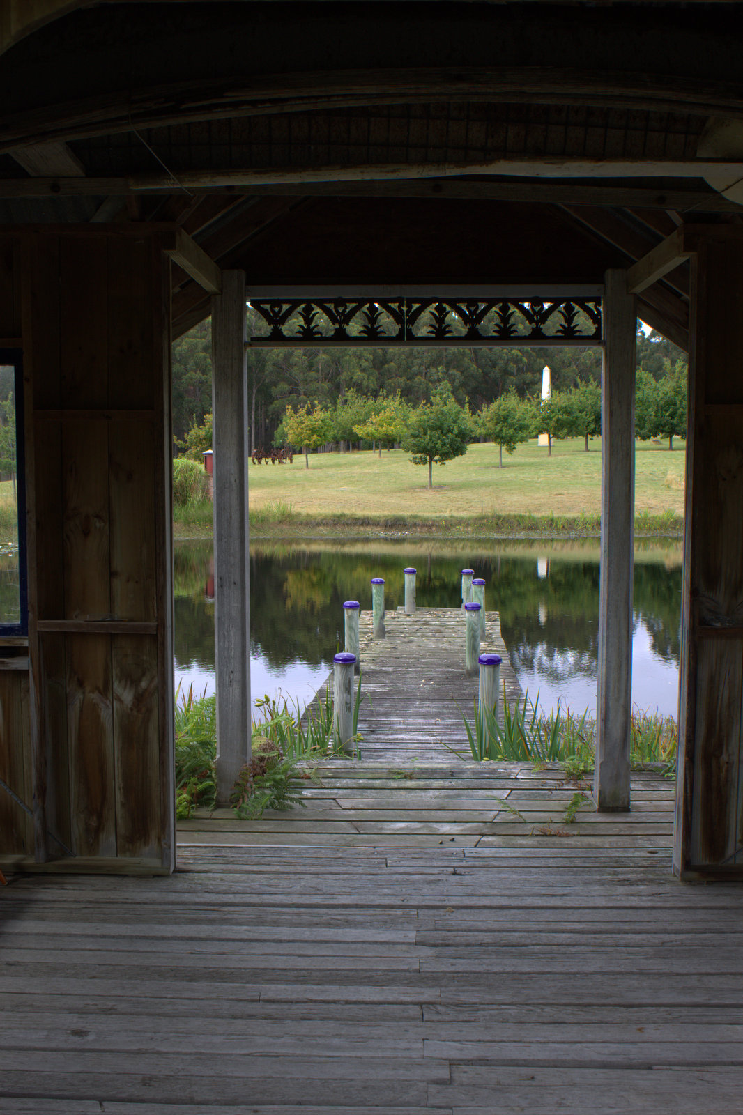 Explore the amazing private garden of Hiba with Adventure Trails Tasamania