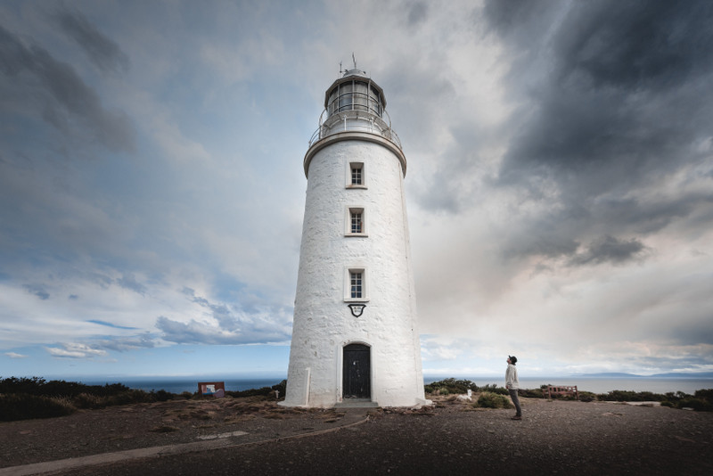 Cape Bruny Lighthouse at the southern tip of Bruny Island, Tasmania, is the second oldest extant lighthouse tower in Australia, as well as having the longest (158 years) history of being continuously manned - Photo Jess Bonde
