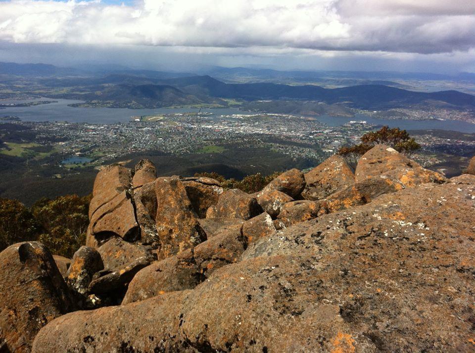 Hobart from kunanyi - Mount Wellington