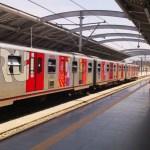 El Metro de Lima es un sistema de ferrocarril metropolitano de la ciudad de Lima