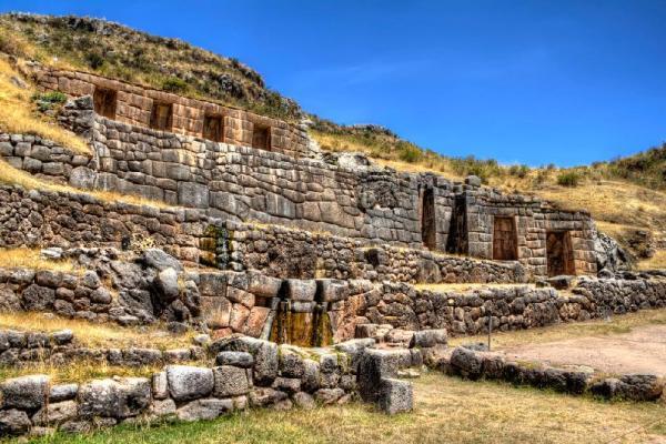 Tambomachay fue un templo de culto al agua - Cusco Perú