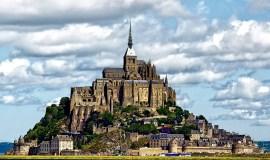 El Mont Saint-Michel, una pequeña isla rocosa