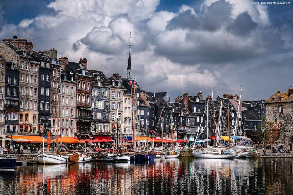 Francia Normandia Honfleur Puerto