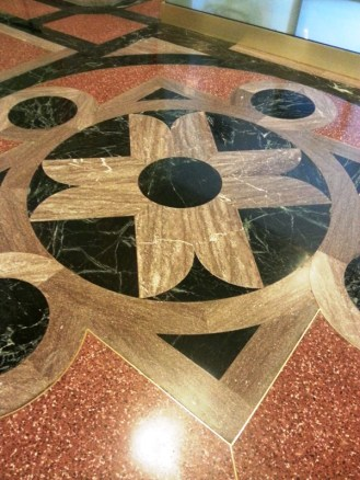 Floor seen at the State Capitol Building in the main lobby.