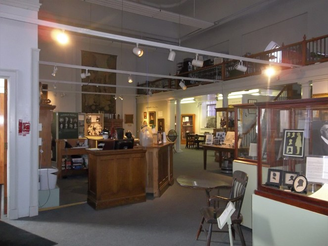 A view of the interior of the Potsdam Public Museum. This at one time was the Public Library.