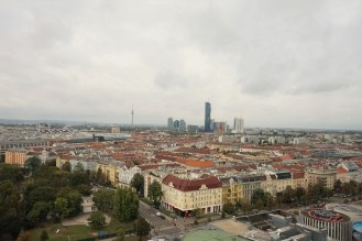 Vienna from the Top of the Wiener Riesenrad