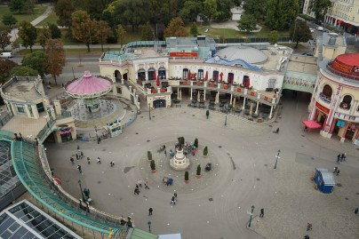 View of Amusement Attractions