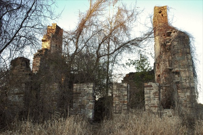 American Ruins on the Old Military Turnpike