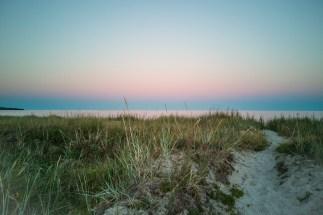 Sudersand in sunset