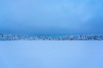 När himmel och snö möts