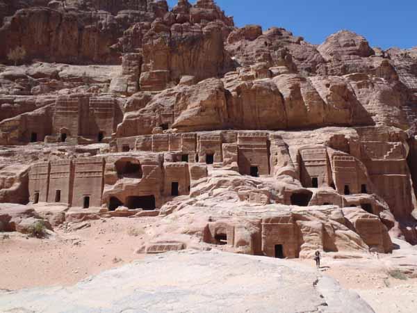 Many Petra Tombs
