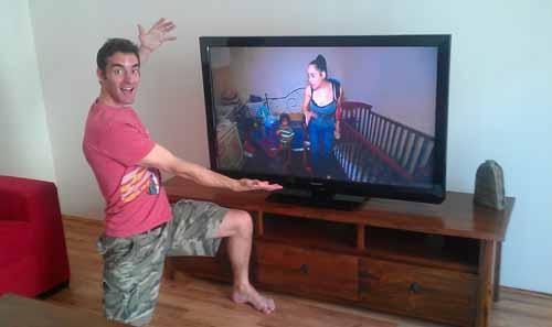 VERY Big TV