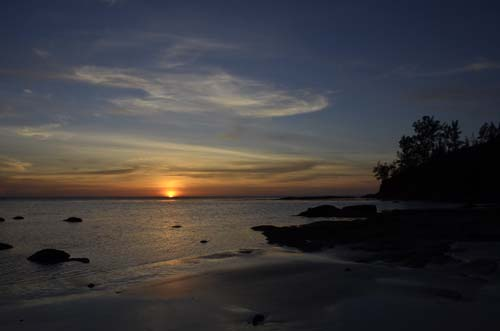Borneo Beach Sunset