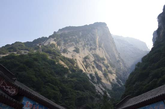 Huashan from below