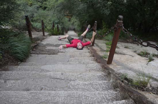Yet More Hua Shan Steps