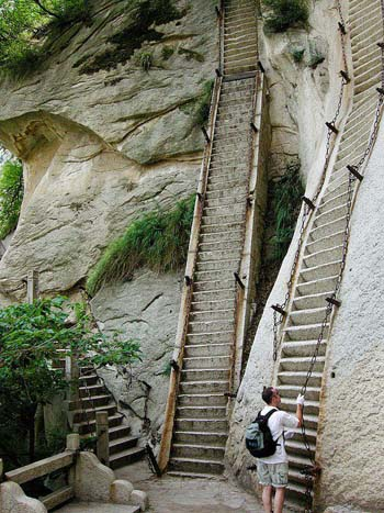 Hua Shan Crazy Stairs