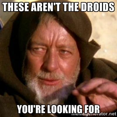 Droids meme