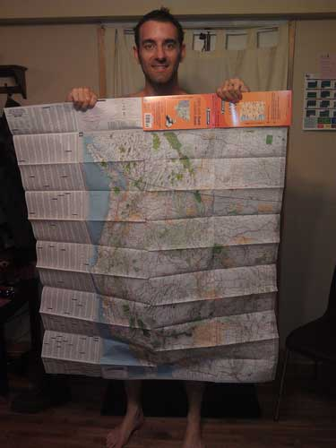 Me with US map