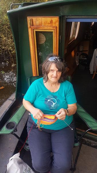 Mum Knitting