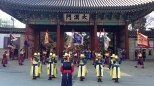 Deoksugung Palace - changing of the royal guard.