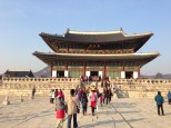 Gyeongbokgung Palace - main throne hall.
