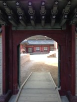 Gyeongbokgung Palace - door.