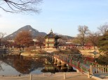 Gyeongbokgung Palace - Hyangwonjeong Pavilion. Beautiful and very peaceful spot.