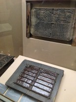 National Folk Museum of Korea - ancient printing methods. Impressive.