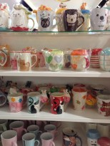Design Stationery store - cute mugs.